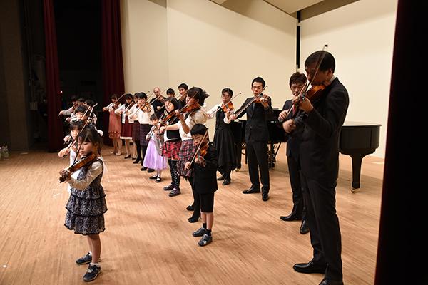 2016年度 メヌエットヴァイオリン教室主催発表会 中区役所ホール
